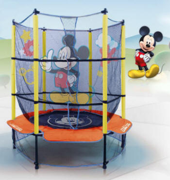 TRAMPOL�N MICKEY MOUSE